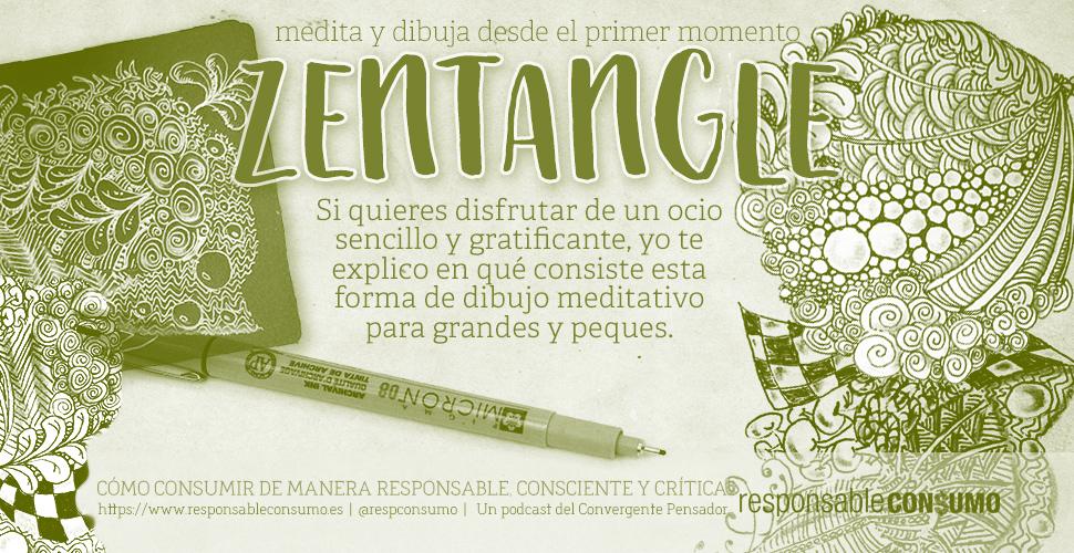 ilustración de la publicación qué es Zentangle art en responsable consumo