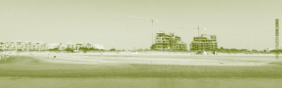 playa de huelva isla canela punta del moral ayamonte construcción
